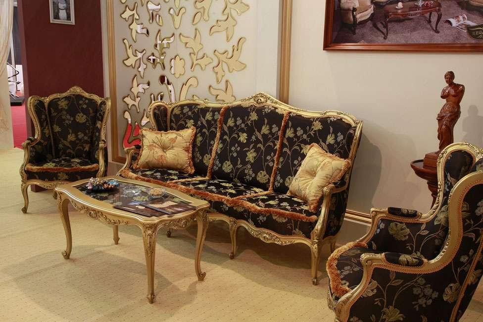 Мягкий мебельный гарнитур Амадеус. Румыния. Стиль ампир.