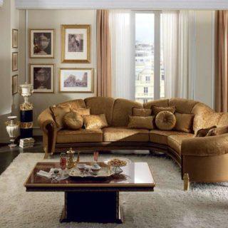 Классический угловой диван Giotto от Arredo classic