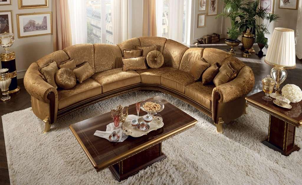 Угловой диван Giotto от производителя arredoclassic