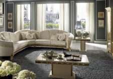 Купить мягкий угловой диван из коллекции Raffaello от Arredoclassic.