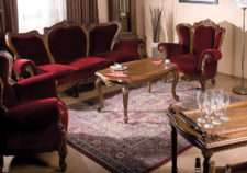 Классическая резной мебельный комплект ROYAL.SIMEX