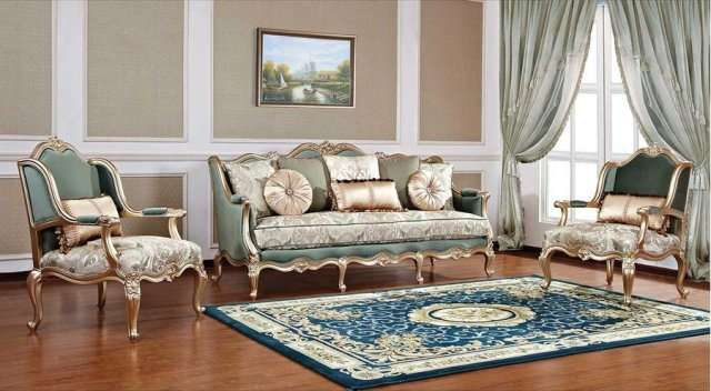Классическая мебель в золоте Бальтазар. Италия
