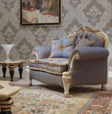 Кресло Бовари из массива дерева (итальянская фабрика)