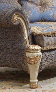 Мягкая мебель Бовари - декор золота