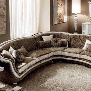 Дорогой угловой диван Miro от Аредо Классик