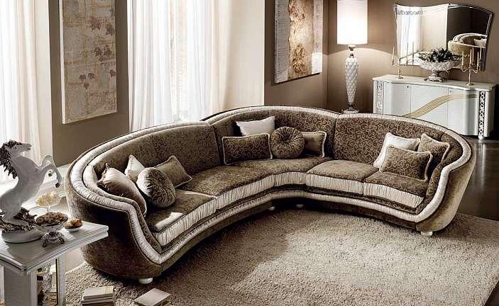 Купить дорогой угловой диван из коллекции Miro от Arredoclassic в Киеве.