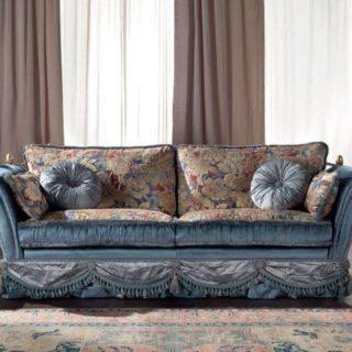 Классический диван Cedar с цветочным принтом