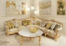 Классический диван Barocco Cechov в зал от Angelo Cappellini