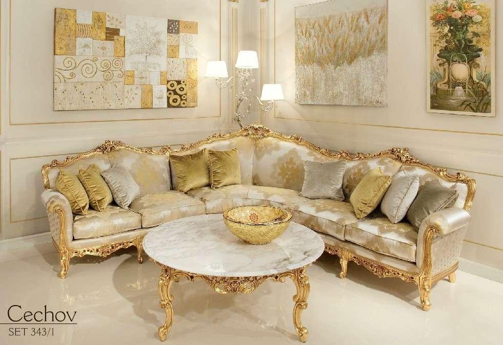 Классический диван Barocco Cechov в зал