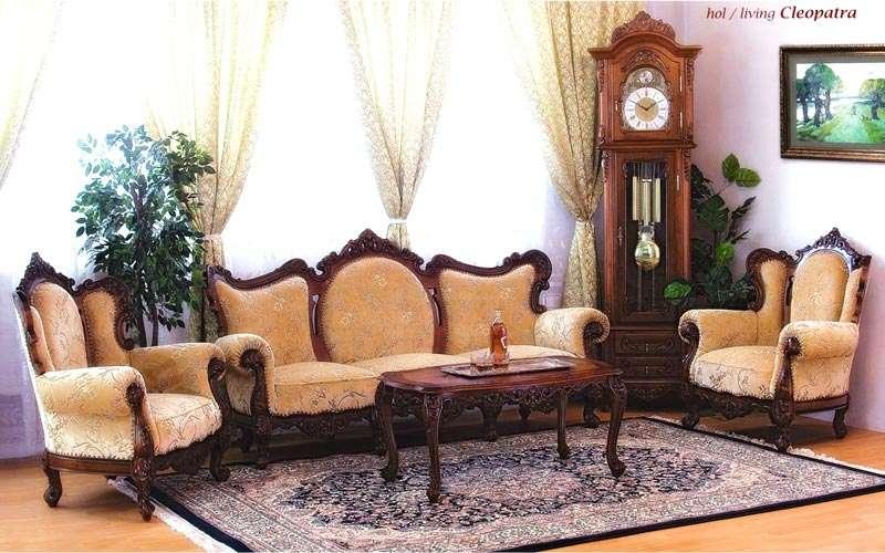 Набор мягкой румынской мебели Клеопатра. Симекс