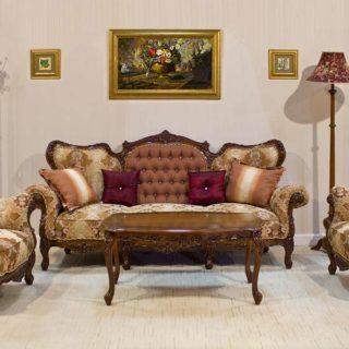 Румынская классическая мягкая мебель Клеопатра, Симекс