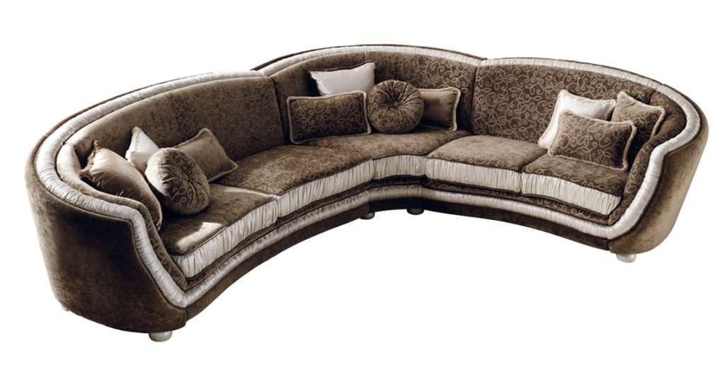 угловой диван Миро в дорогом классическом стиле от аредо классик