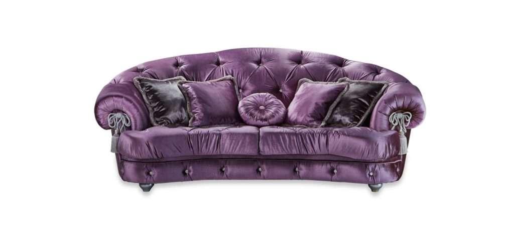Диамант фиолетовый в каретной стяжке