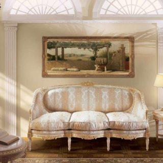 Классический диван с золотом Luigi XVI Dickens
