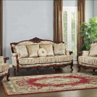 Элитный классический коричневый  диван Диоген