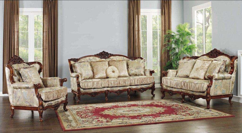Коричневый классический комплект мебели Диоген, Беллини