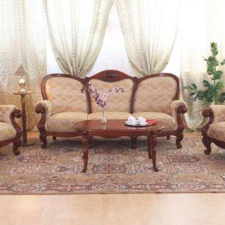 Мягкая мебель из массива ELYSEE (Элис) в деревенском стиле