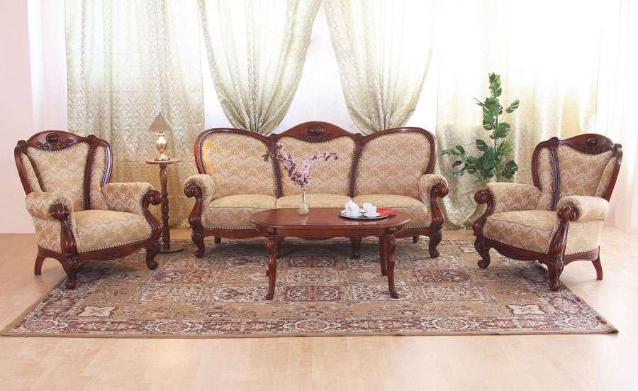 Мягкая мебель для гостиной в деревенском стиле Элис.