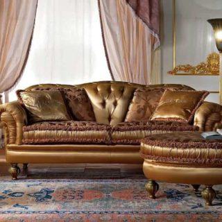 Классический диван из массива Amos