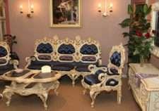 Классическая резная мебель в стиле Ампир. Румыния. Мобекс.