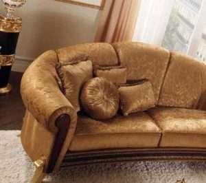 классический диван коричневого цвета от аредо классик