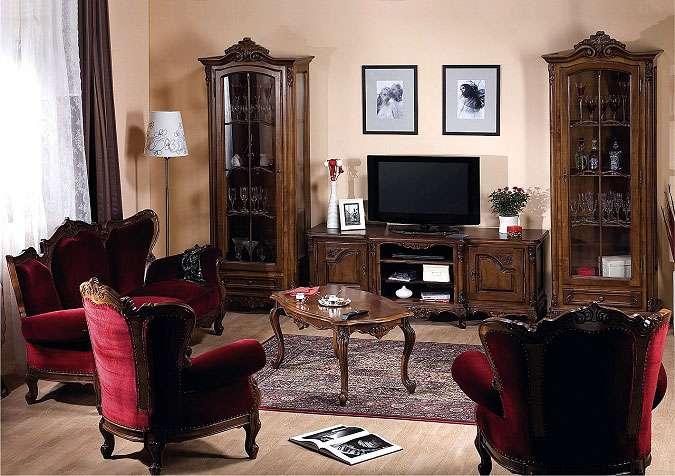 Классический мягкий комплект Роял (диван и кресла). Симекс