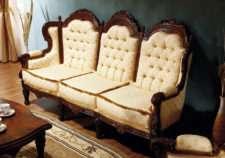 Элитный мягкий комплект мягкой мебели CRISTINA/SIMEX