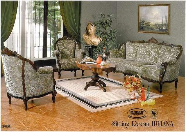 Дорогая мягкая мебель в гостиную Юлиана.