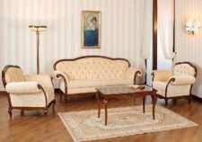 Комплект мягкой эксклюзивной мебели Вивере в гостиную. Румыния