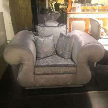 Lotus кресло серого цвета