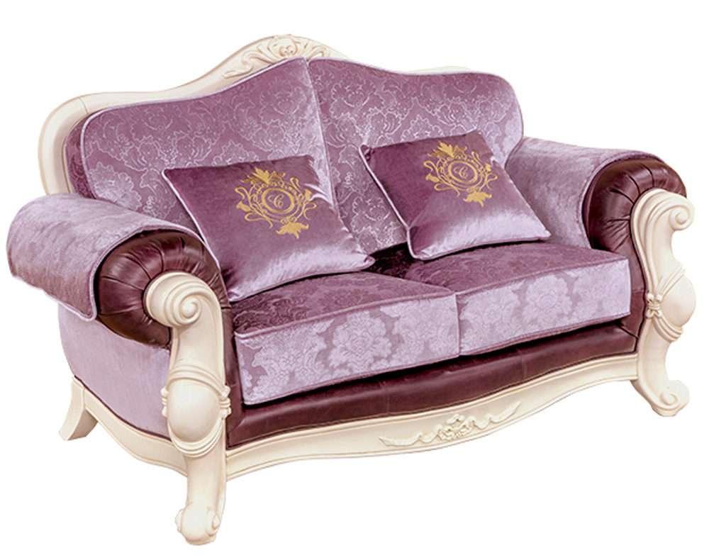 Двухместный диван Карпентер 230 фиолетовый