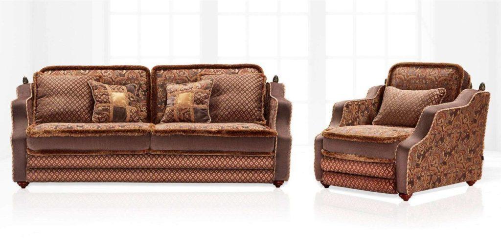 Классический комплект мягкой мебели Konstantin