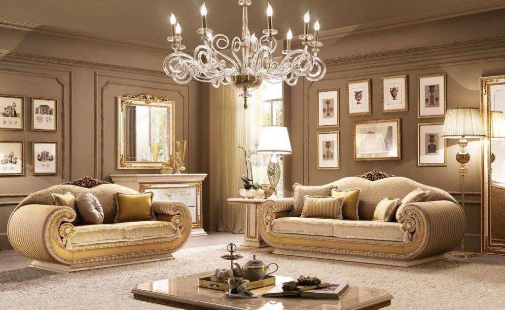 Мягкий прямой диван Leonardo от Arredo Classic