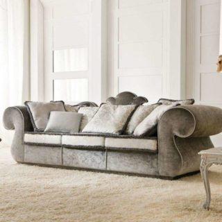 Дизайн дивана Lotus в классическом стиле
