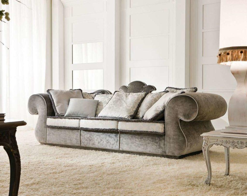 Дизайн дивана Lotus в классическом стиле. Итальянский диван Лотос