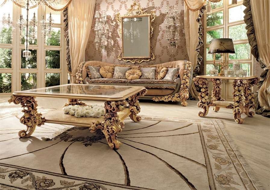 Комплект мягкой итальянской мебели Букет