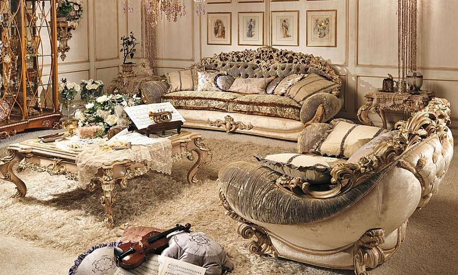 мягкая мебель Sinfonie фабрики Riva Mobili D'Arte