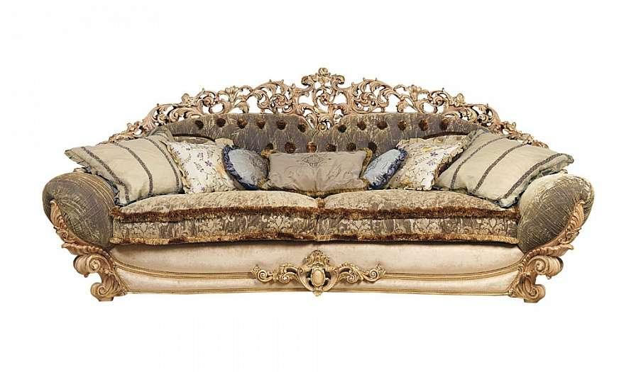 трехместный элитный диван Симфония от фабрики RIVA 7663 (Италия)