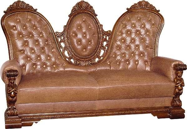Элитный кожаный диван Флорента. Мобекс