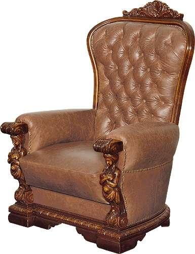 Элитное кресло в набор мебели Флорента. Мобекс. Румыния