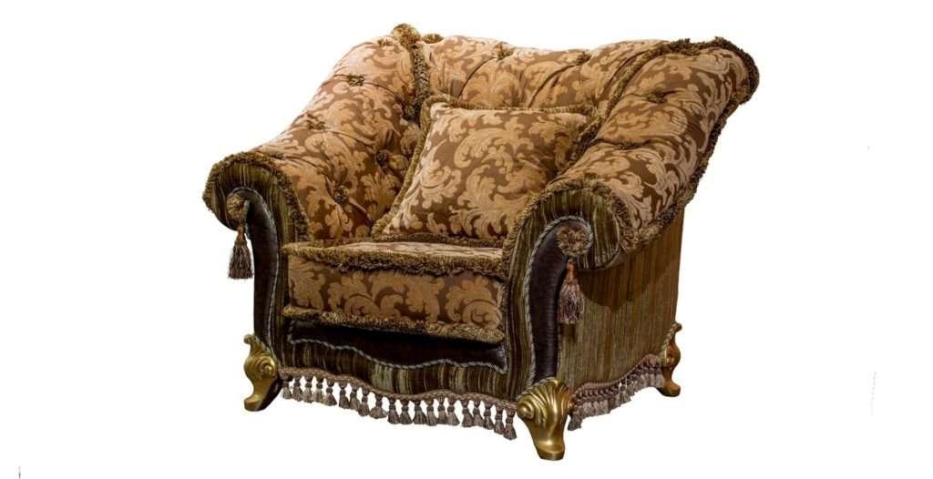 кресло мягкого комплекта мебели Портос
