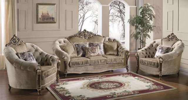 Классический комплект мягкой мебели в гостиную Прометей.