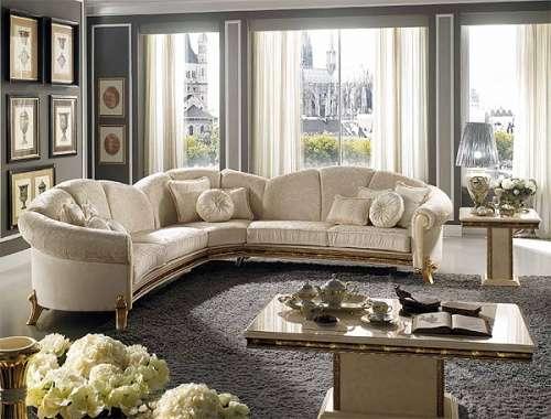 Мягкий диван Рафаелло из массива от Аредо классик