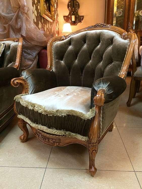 Кресло из комплекта коллекционной мебели Регалис