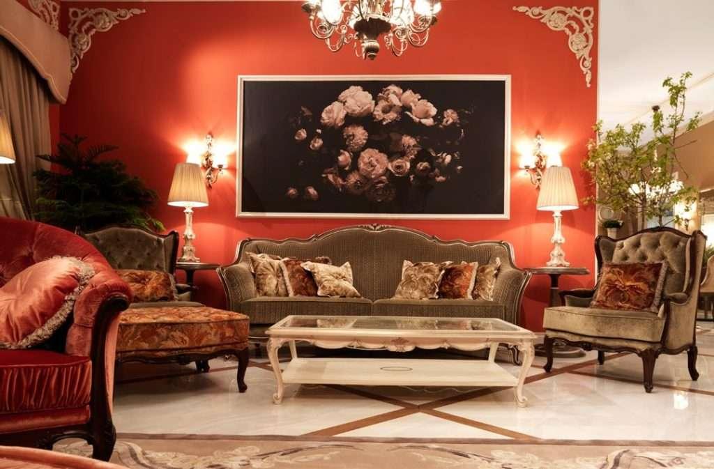 Элитная мягкая мебель в гостиную итальянской фабрики Савио Фирмино