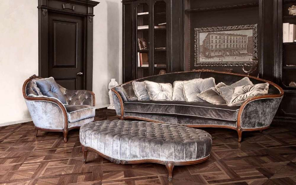 Фото итальянской мягкой мебели от Савио Фирмино: