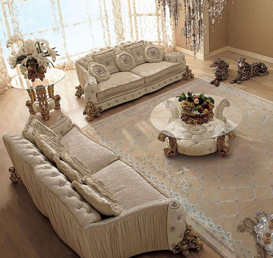 мягкая мебель в зал от итальянской фабрики Рива Мобили Д'Арте