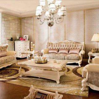 Белый диван Carpenter 236 A в классическом стиле