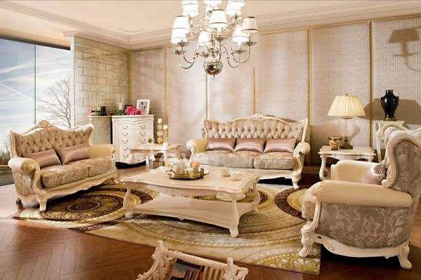 Купить Белый диван Carpenter 236 A в классическом стиле в Киеве.