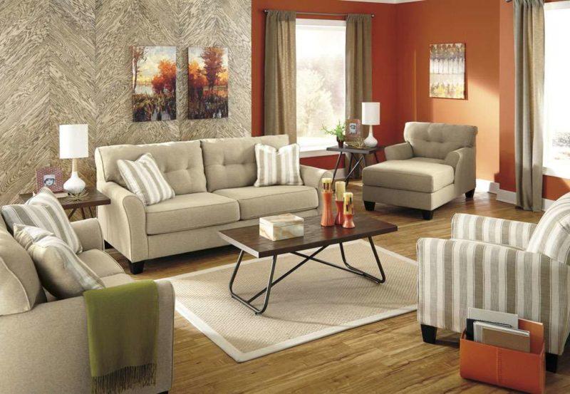 Дорогая американская мягкая мебель в гостиную